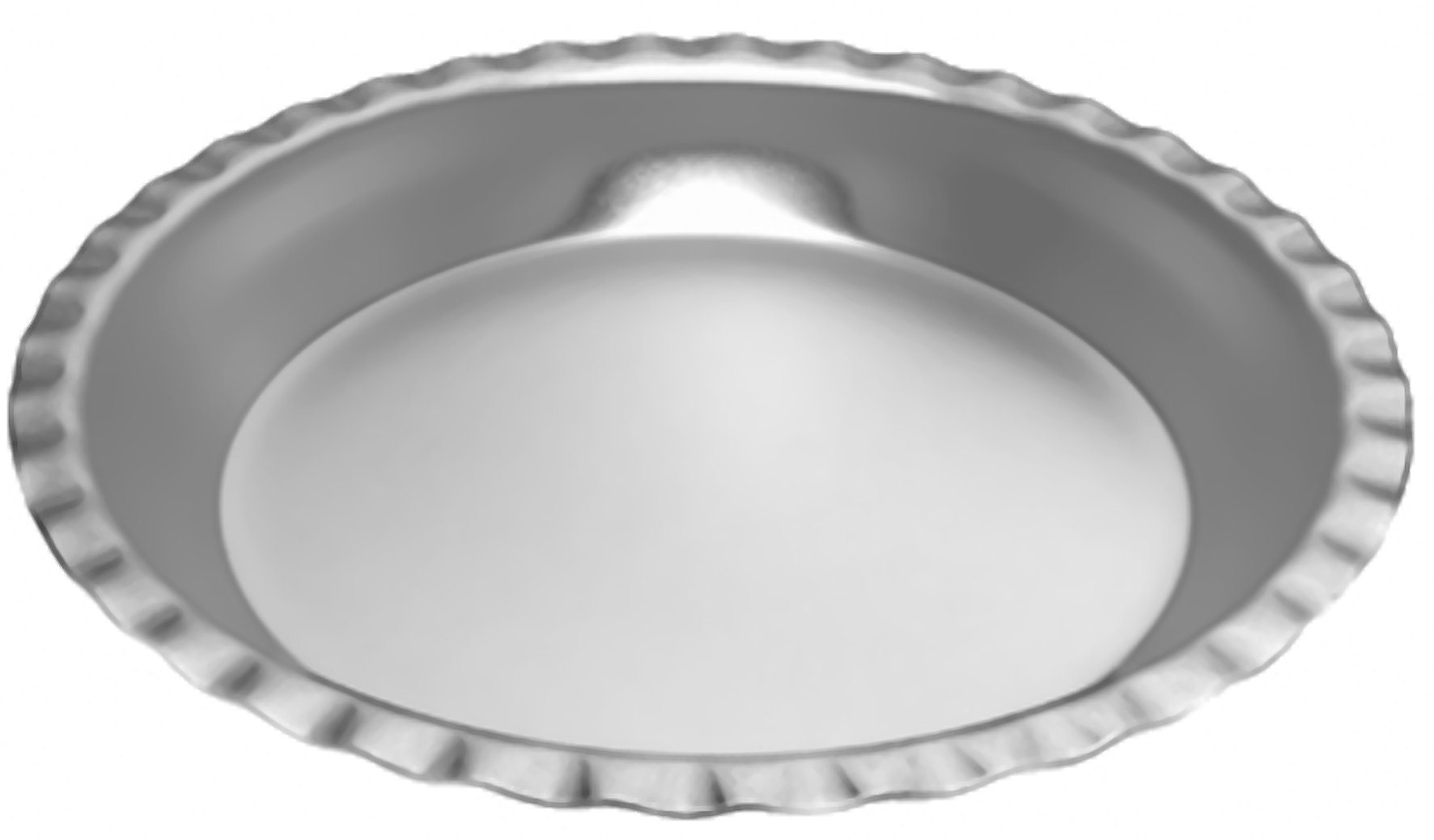 Alan Silverwood 9'' Fluted Pie Pan Dish 22393