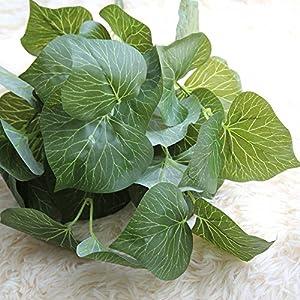 Sqkm-88 Artificial Fake Leaf Magnolia Leaves simulate Green Leaves Wedding Home Decor 74