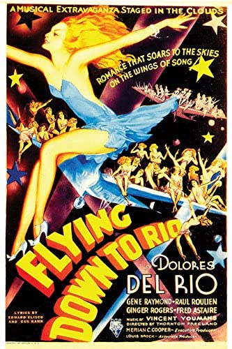 Flying Down to Rio Poster////Flying Down to Rio Movie Poster////Movie Poster////Poster