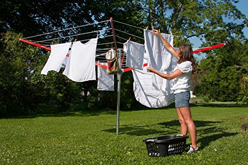 Sunshine Clothesline Outdoor Umbrella Shape Clothes Dryer