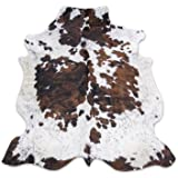 Tricolor Rodeo Cowhide Rug XXL 6x8ft (180cmx240cm)TR6X8