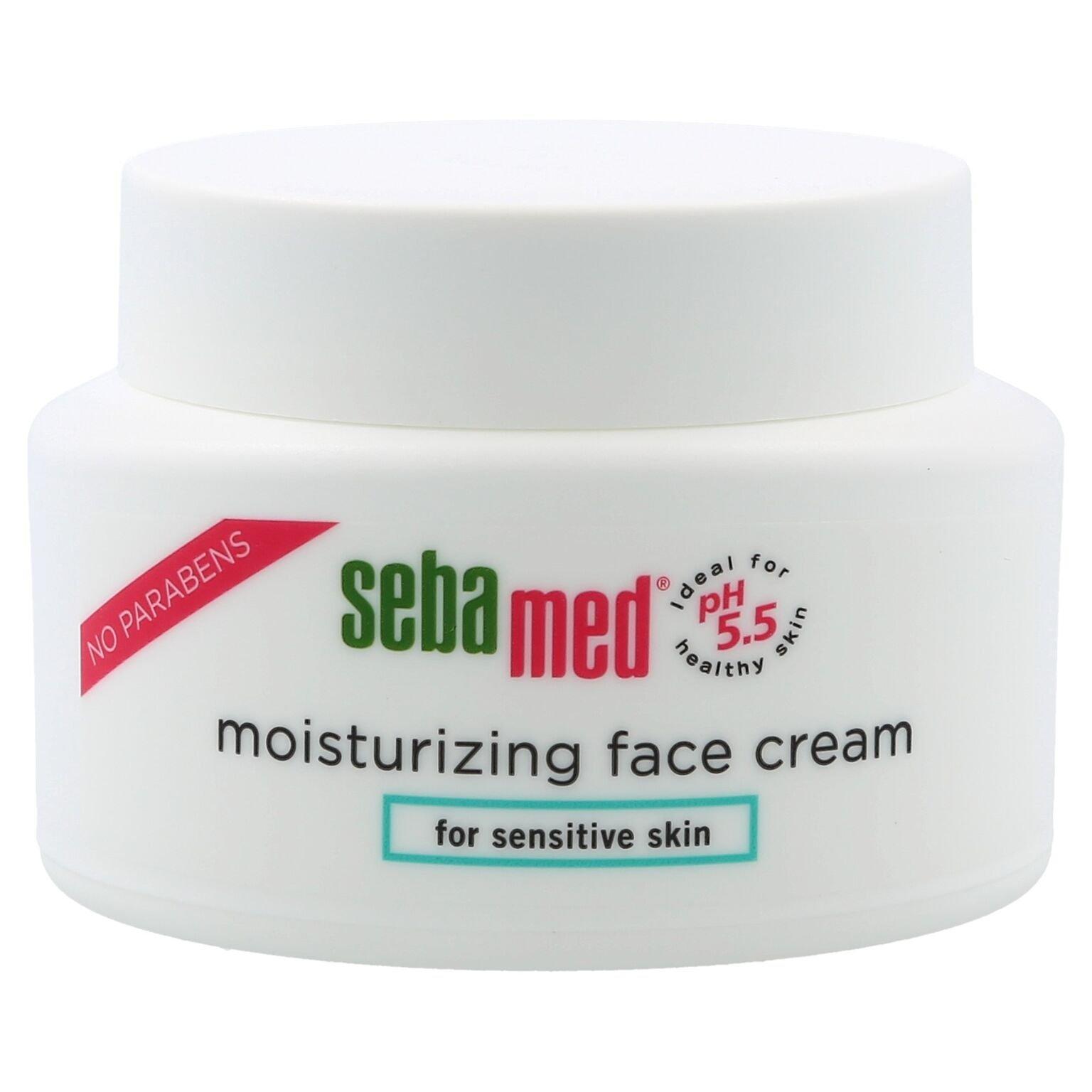 Sebamed Moisturizing Face Cream for Sensitive Skin Antioxidant pH 5.5 Vitamin E Hypoallergenic 2.6 Fluid Ounces (75mL) Ultra Hydrating Dermatologist Recommended Moisturizer by SEBAMED
