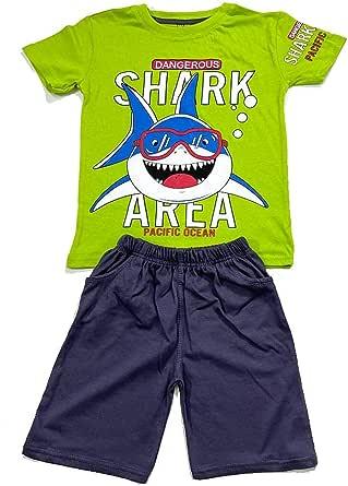 Shark Kids summer Pajama