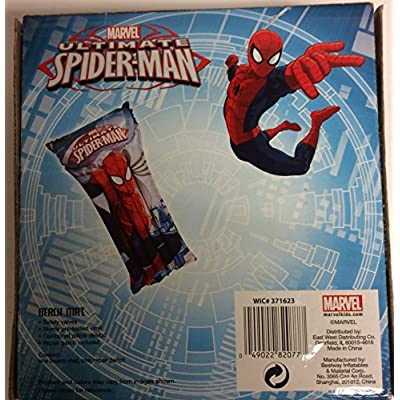 Marvel Spiderman Inflatable Raft for Kids: Toys & Games