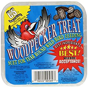 C & S Products Woodpecker Treat, 12-Piece 31
