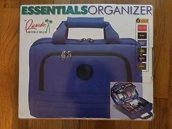 b571f4a85f Amazon.com   Ricardo Beverly Hills Essentials Organizer Color is Black   Toiletry  Bags   Beauty