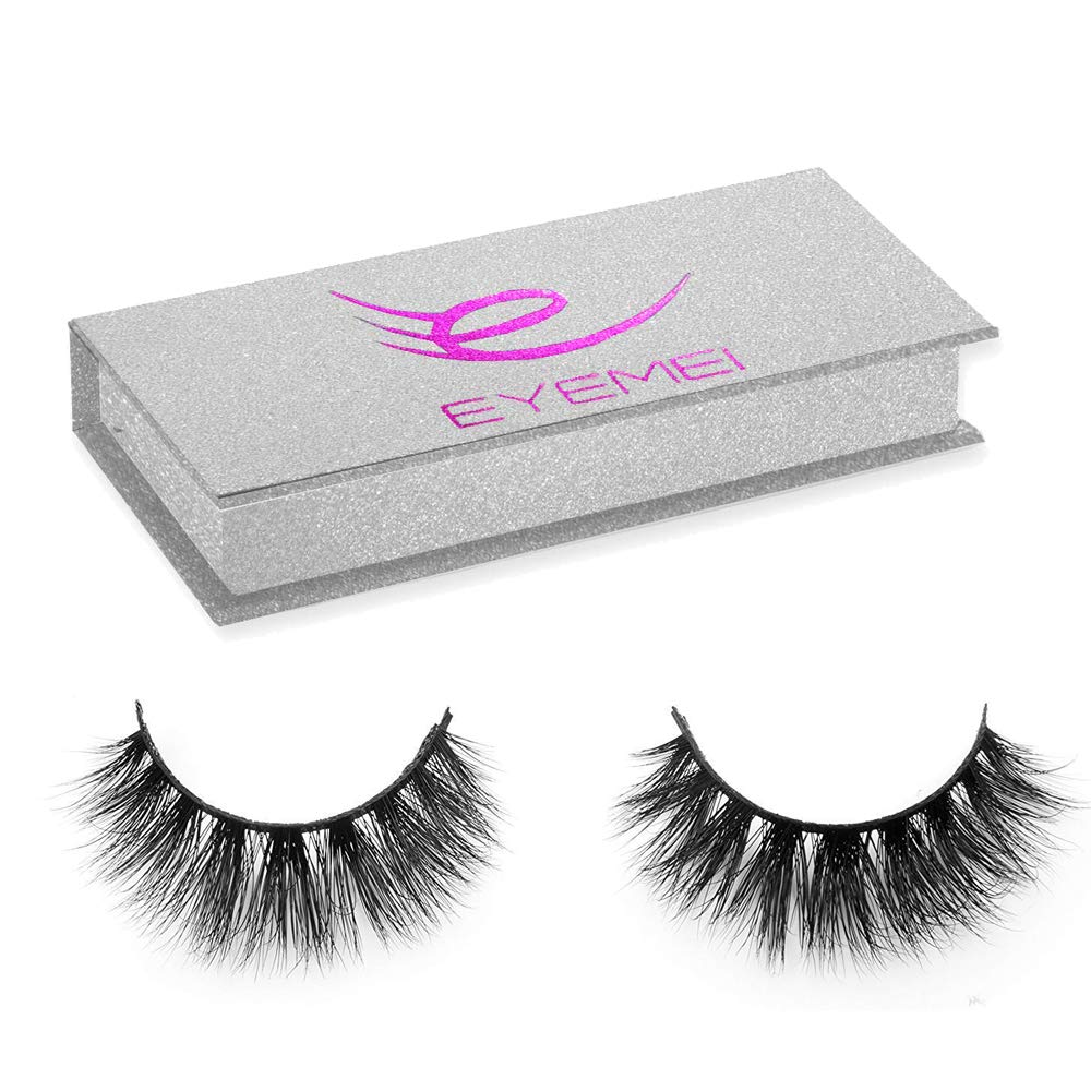 Amazon Com 3d Mink Hair False Eyelashes Natural Thick Long Eye Lashes Wispy Makeup Beauty Extension Tools By Eyemei 1 Pairs Beauty