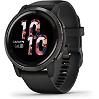 Garmin GM-010-02430-71 Venu 2 Smartwatch with AMOLED Touchscreen, 40/45mm, Black/Black