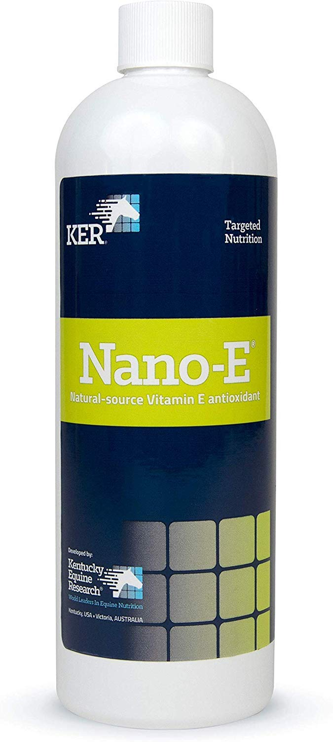 Kentucky Equine Research Nano -E: Natural Source Vitamin E Antioxidant for Horses, 450 mL by KENTUCKY EQUINE RESEARCH