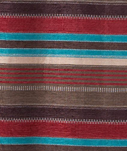 "North End Décor Western Espuelas Room Darkening Curtain Panels, 2 Panels (48"" x 84"" each) Included"