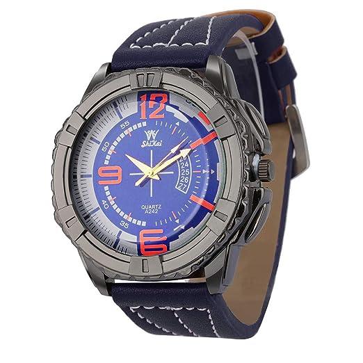 Relojes De Pulsera para Hombres Relojes Hombre Relojes De Lujo para Hombres Reloj con Esfera Grande