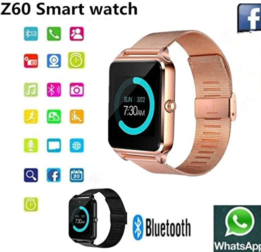 SanQing Smart Watch Bluetooth Steel Belt Pantalla táctil con ...