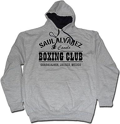 Saul Alvarez Boxing Club México Gimnasio MP3 Sudadera con Capucha ...