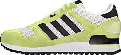 new concept 4cf7b 3a661 Image Unavailable. Image not available for. Colour  adidas Men s ZX 700  Trainers White ...
