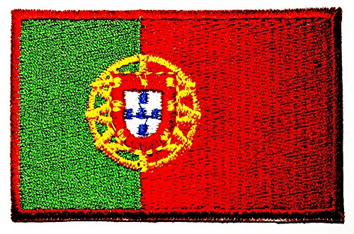 Portugal Portuguese Republic National Flag logo patch Jacket T-shirt Sew Iron on Patch Badge - Tracking Number Portugal