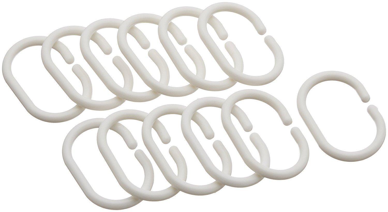 blanc Polyester Klass Home Collection/® Rideau de douche 100 /% polyester 180 x 200 cm