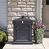 Step2 Deluxe Package Delivery Box, Elegant Black