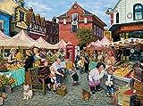 White Mountain Puzzles Farmers Market - 1000 Piece Jigsaw Puzzle