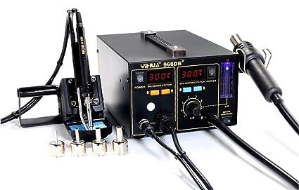 Italtronik YIHUA 968DB+ - Estación de soldadura y desoldadura, aire caliente