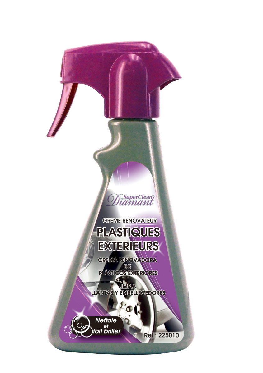 SUPERCLEAN RENOVADOR PLÃ STICOS EXTERIORES 300ml DIAMANT 225010