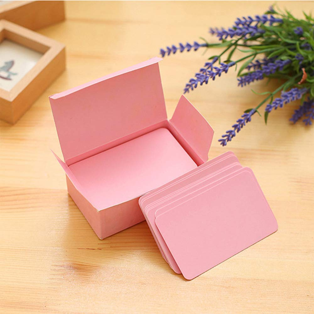 Brown Tasquite DIY Gift Card Blank Flash Cards Message Card Thicker for Greeting Memo Study Wedding Party 90 Pcs