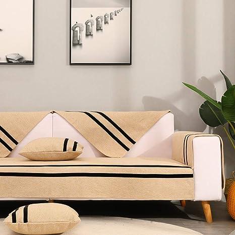 ZTMN Colchonetas de sofá de algodón Funda de sofá Funda de ...