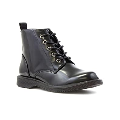8bf3ea41ce028 Lilley Womens Black Lace Up Ankle Boot - Size 9 UK - Black  Amazon ...
