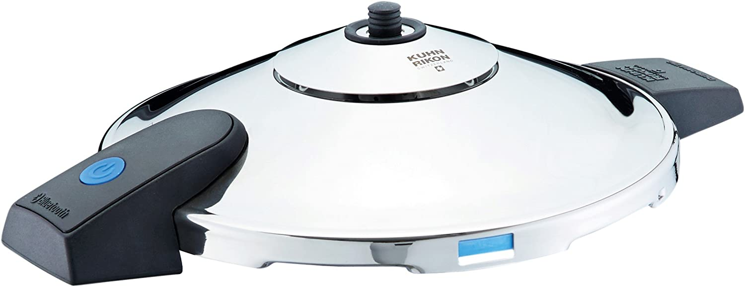 4 Litre Kuhn Rikon Duromatic Comfort Stainless Steel Pressure Cooker with Side Grips 22 cm