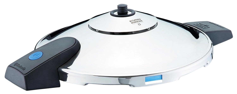 KUHN RIKON Duromatic Comfort - Olla a presión Modelo con Asas, 6 L, 22 cm