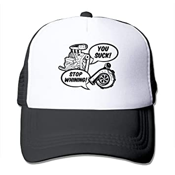 Qefgjbw Classic Mesh Back Trucker Hats Supercharger V Turbo Mesh Hat Adjustable Hats For Adults and Kids C1: Amazon.es: Deportes y aire libre