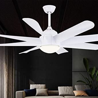 Kdiaodeng Lamparas Techo Colgantes Luz De Ventilador De Techo LED ...