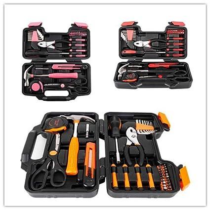 Amazon.com: Light-Ren 39pcs Tool Kit Basic Household Repair ...