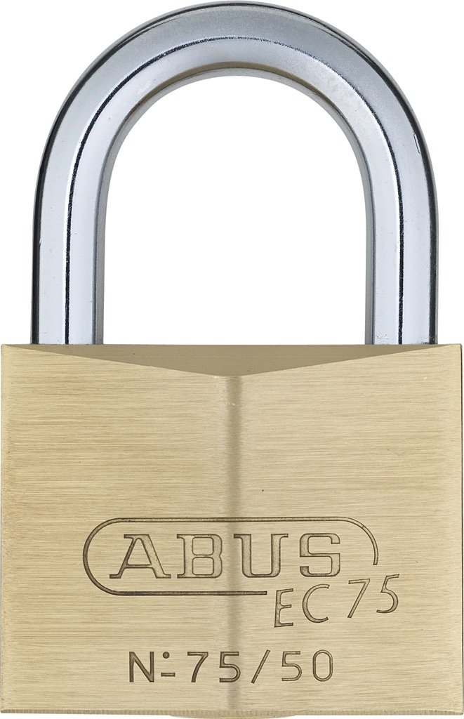ABUS 75/50 KD B All Weather Solid Brass Keyed Different Padlock