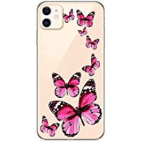 Funda Compatible con iPhone 11 6.1,Carcasa Transparente Suave