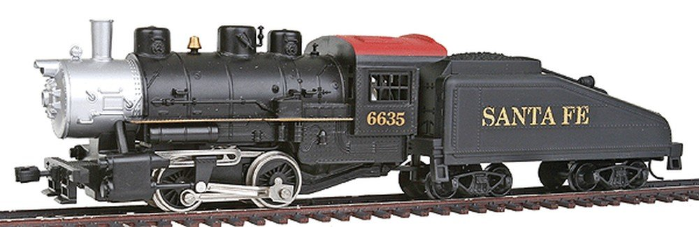 Santa Fe 0-4-0 Shifter And Tender Ho Scale Train Engine MODEL POWER
