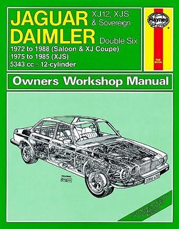 jaguar xj12 xjs sovereign repair manual haynes manual service manual rh amazon co uk