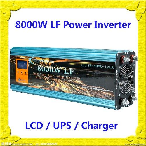 32000Watt Peak 8000Watt Low Frequency Pure Sine Wave Power Inverter 24V...