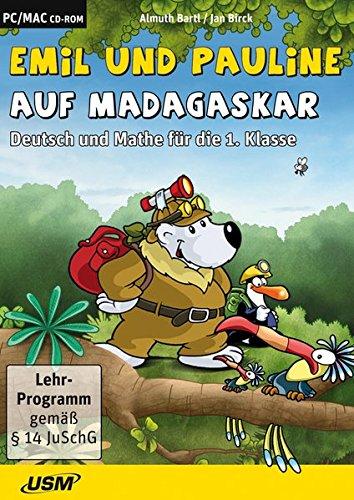 Emil und Pauline auf Madagaskar: Deutsch und Mathe für die 1. Klasse