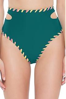 8dcbd9e756f44 Amazon.com  Becca by Rebecca Virtue Women s Camille Hipster Bikini ...