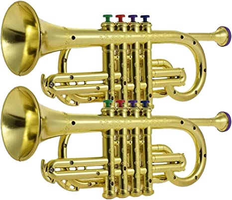 B Baosity Instrumento De Viento Del Cuerno De La Trompeta De ...