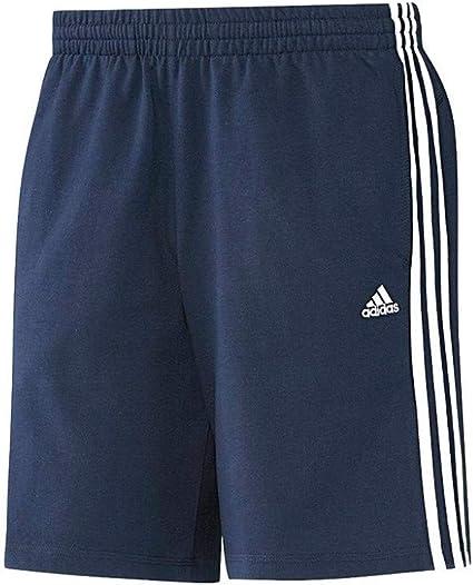 adidas Men's 3–Stripes Essentials Short en Jersey