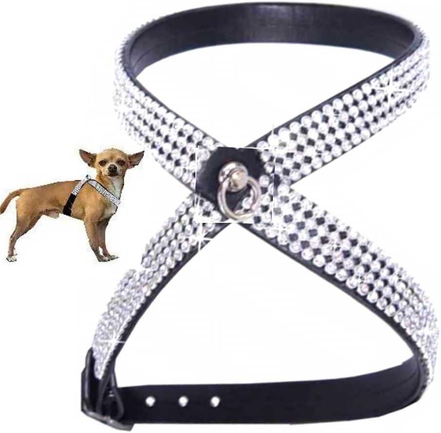 Woof Style Arnés para Perros de Estilo Chihuahua, Color Negro ...