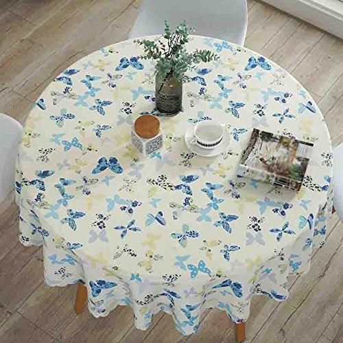 Pastoral Tischdecken Hotel Home Esstisch Matte Wasserdicht Anti-Heißöl , 003 , round 220cm B07BMWYTTV Tischdecken Leicht zu reinigende Oberfläche  | Hochwertige Produkte