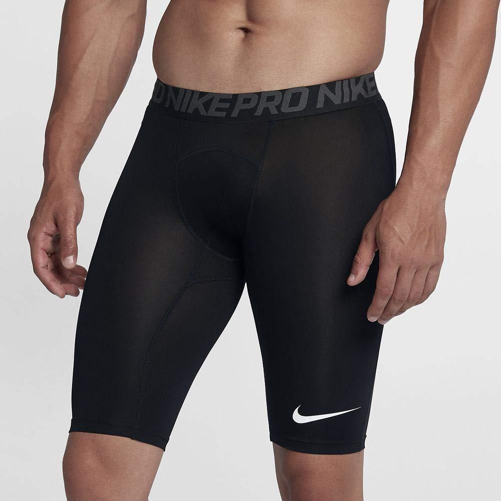 Nike Men's Pro Cool Short Black/Dark Grey/White Size Medium by Nike (Image #5)