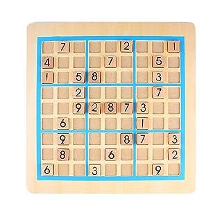Andux Zone Gioco di Puzzle di Scacchi in Legno 2-in-1 di Giocattolo del Sudoku SD-05 Sudoku e Gomoku