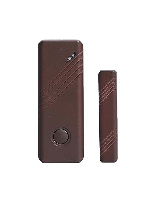 51 opinioni per LKM Security Sensore Magnetico Porte e Finestre Wireless, Marrone