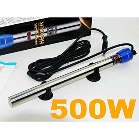 TradeShopTraesio®- Calentador con termostato para acuario, regulador de la temperatura,
