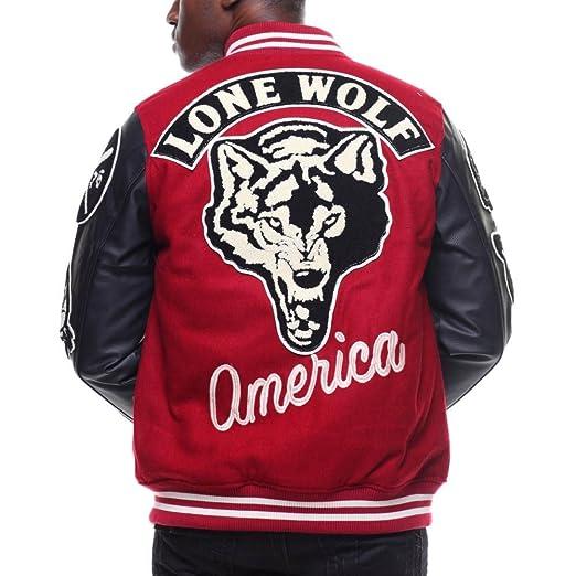 Amazon | (ヘリテイジ) Heritage America メンズ アウター ブルゾン patches vegan leather  sleeves varsity jacket [並行輸入品] | コート・ジャケット 通販