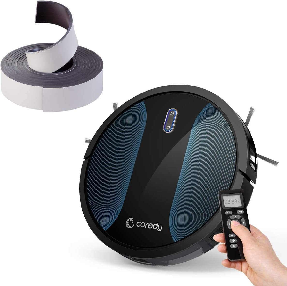 Coredy R550 (R500+) Robot Vacuum Cleaner with Boundary Strip