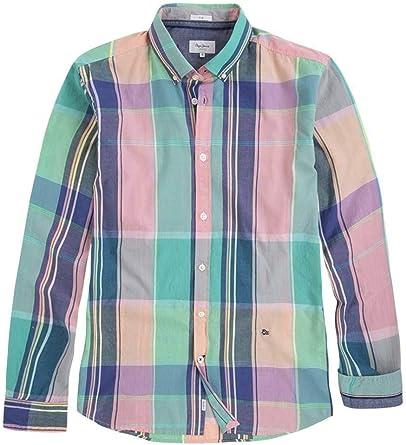 Pepe Jeans Camisa Scott Multi Hombre XXL: Amazon.es: Ropa y accesorios